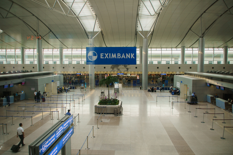 Tan Son Nhat Airport is the main airport serving Ho Chi Minh City.