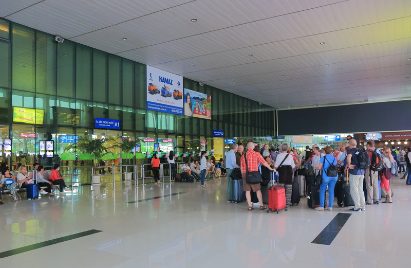 Ho Chi Minh Airport is the most important airport in Vietnam and its main gateway.